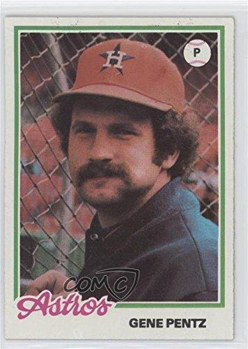 Gene Pentz (Baseball Card) 1978 Topps Burger King - Restaurant Houston Astros #11