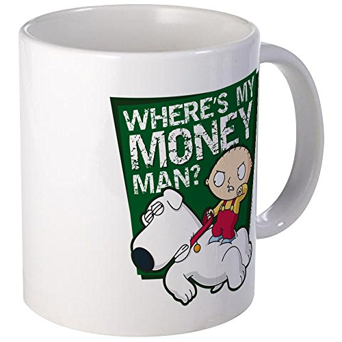 (CafePress - Family Guy My Money Mug - Unique Coffee Mug, Coffee Cup)
