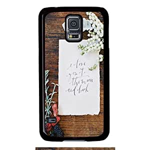 Perfect fitting cover protects your Samsung S5, case protect your Samsung S5 with Calligraphy Style