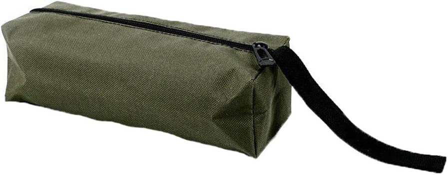 12 POCKET CANVAS TOOL ROLL STORAGE BAG CASE POUCH