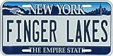 Vintage 1946 Finger Lakes New York Aluminum License Plate