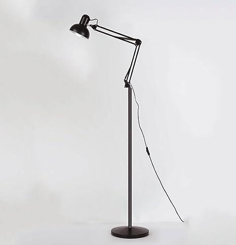 Lámparas de pie Dormitorio de campo americano de hierro ...