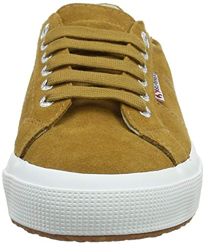 Biscuit Unisex Marrone 182 Adulto Sueu Superga 2750 Sneaker Dk Brown wnpZg