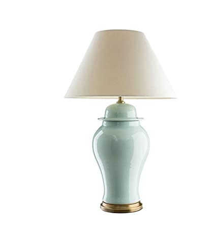 Lámpara de mesa, Lámpara de mesa de cerámica agrietada Villa ...