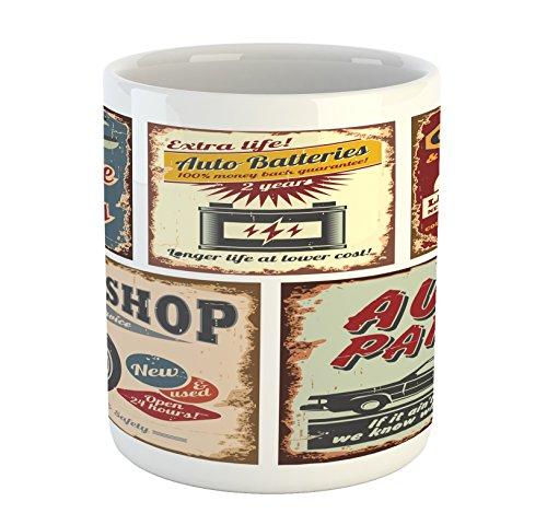 Classic Car Mug - 5