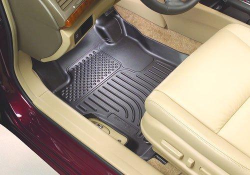 Husky Liners 98822 WeatherBeater Gray Floor Liner for Mercedes Benz GLK Class (Gray Weatherbeater Floorliner)