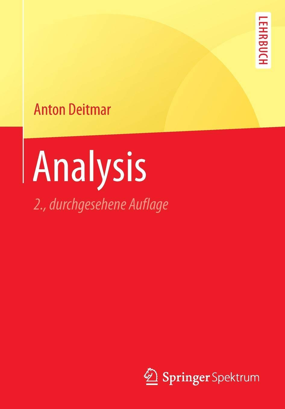 Analysis  Springer Lehrbuch