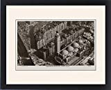 Framed Print of Westminster Cathedral viewed from the air