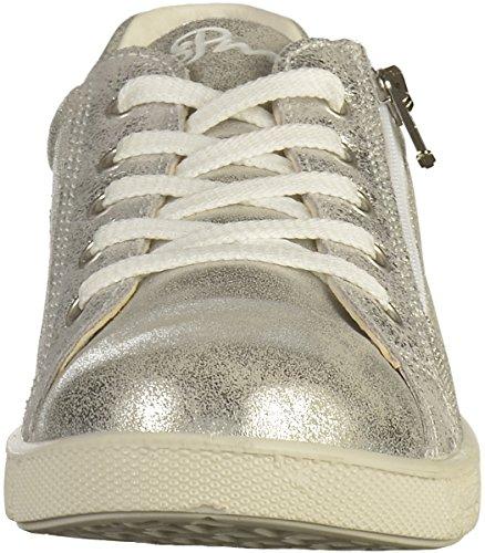 Primigi Mädchen Pho 13670 Sneaker Silber