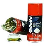 Gillette Foam Shaving Cream Diversion Safe