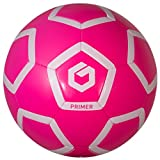 GOLME Primer Soft-Touch Soccer Ball - Power Pink Size 3 offers