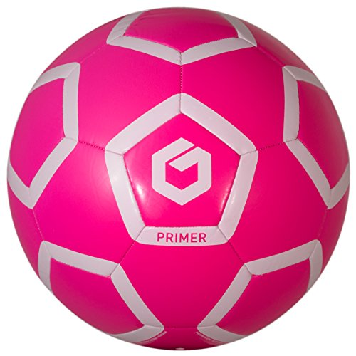 GOLME Primer Soft-Touch Soccer Ball - Power Pink Size (Pink Soft Soccer Ball)
