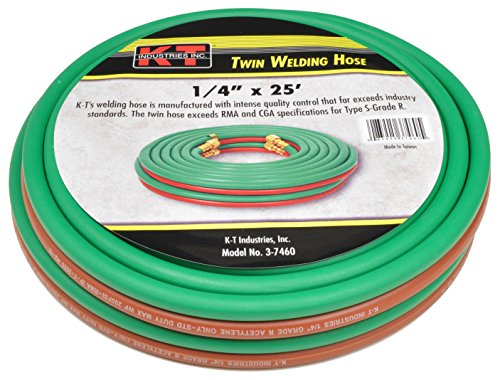 K-T Industries 3-7460 Twin line Hose, 0.25'' x 25