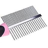 Handy Pet Grooming Double Side Comb - Dog Cat Fleas