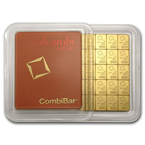50x 1 gram Gold CombiBar - Val