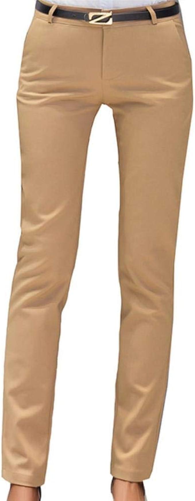 HKRT, pantaloni da donna autunno a vita alta, pantaloni da ...