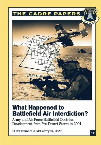(What Happened to Battlefield Air Interdiction?  Army and Air Force Battlefield Doctrine Development from Pre-Desert Storm to 2001: CADRE Paper No. 17)