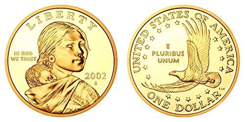 2002 S Sacagawea Native American Proof Dollar PF1