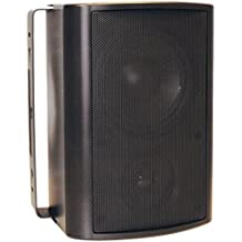 OEM Systems IO-510-B Speakers Pair Black 5.25 2 Way 100W Indoor/Outdoor Consumer Electronics