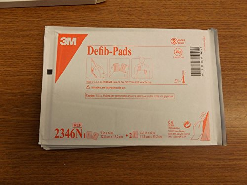 Defib Pads (3M 2346N Defib pads box of 10 new)