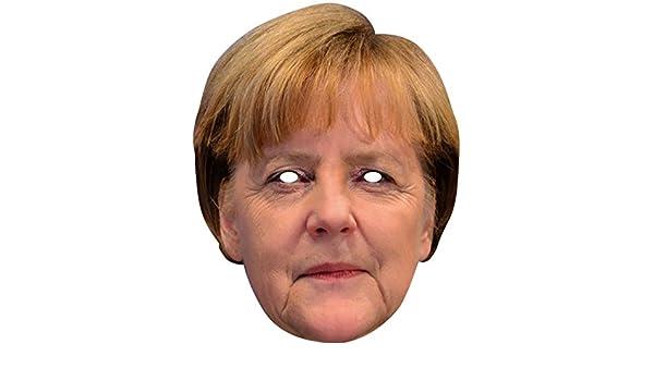 NET TOYS Máscara Angela Merkel | Careta de Cartón Presidente ...