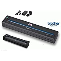 Brother PocketJet PJ-723 - Basic Kit - printer - monochrome - thermal paper - A4/Legal - 300 x 203 dpi - up to 8 ppm - USB 2.0