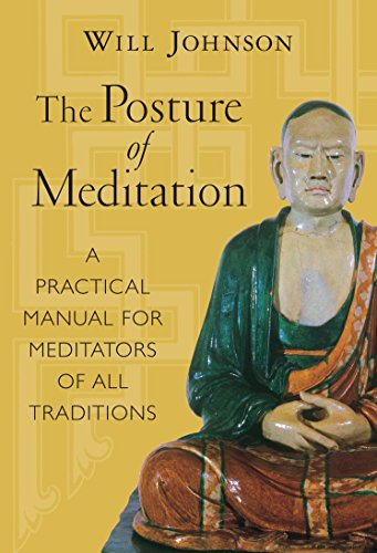Thing need consider when find posture of meditation, will johnson?