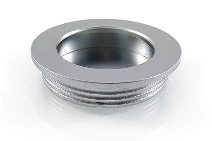 Mh005 /Poign/ée de tiroir coulissant de bureau Poign/ée ronde encastr/é de 15,2/cm de long Probrico