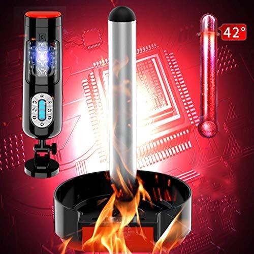 QJFFJ- Mästurbators Cup Male Mâstûrbâtör USB Rechargeable Waterproof,Intelligent Sound and Heating