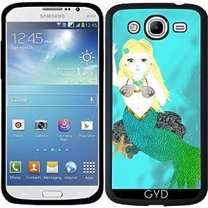 Funda para Samsung Galaxy Mega 5.8 (i9150) - Mítica Sirena De Natación by Blingiton