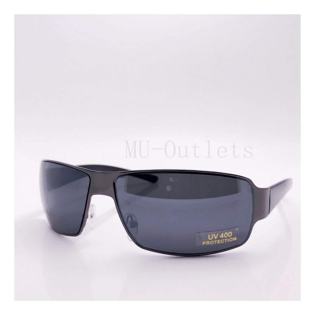#2008 Mens Womens Rectangular Designer Fashion Metal Frames Sunglasses