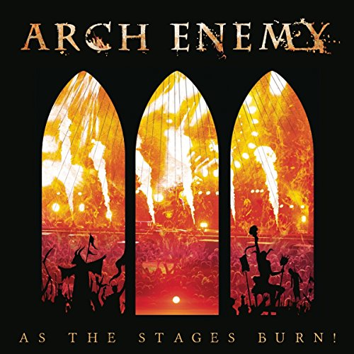 Blu-ray : Arch Enemy - As The Stages Burn! (Blu-ray)