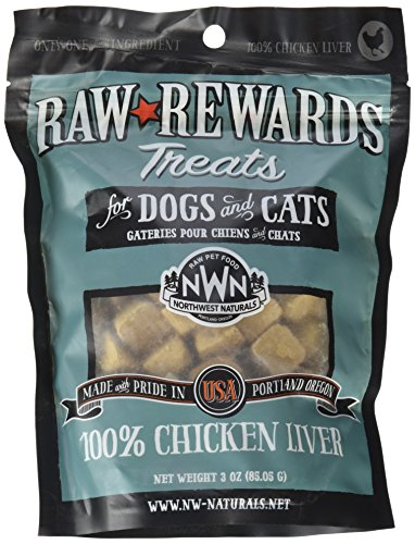 Northwest Naturals Raw Rewards Freeze Dried Liver Treats (Chicken)