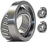 (2 Sets) Toro 71-2530 Tapered Roller Bearings - OEM UPGRADE