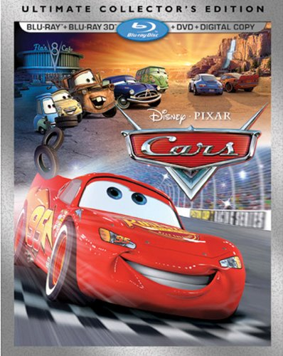 Blu-ray 3D : Cars: Ultimate Collector's Edition (With Blu-Ray, With DVD, Collector's Edition, Widescreen, 3 Pack)