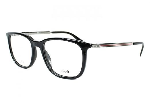 cf83e6b3db5 Amazon.com  Gucci Gucci 1151 0CVS Black Ruthenium Eyeglasses  Clothing