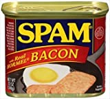 Spam with Real Hormel Bacon Luncheon Meat 12 oz by Spam