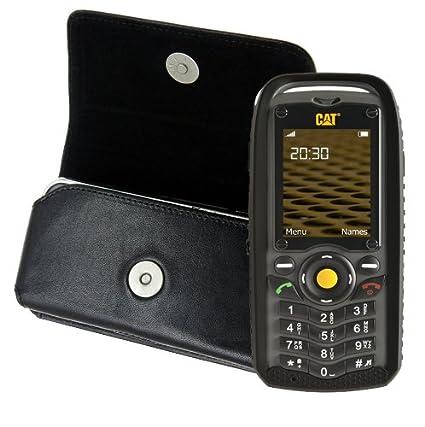 742555ef608d8 Original mTT étui de protection pour caterpillar cAT b25 outdoor horizontal  en cuir avec clip de ceinture    Amazon.fr  High-tech