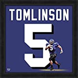 LaDainian Tomlinson Texas Christian University Horned Frogs Jersey Uniform 20 x 20 Framed Photo - Licensed NCAA Collectible
