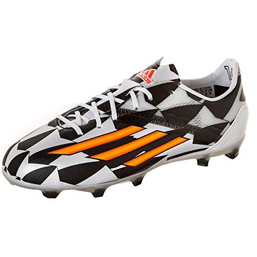 adidas F50adizero TRX FG WC Kinder–�?Schuhe Fußball weiß/neon orange/schwarz Weiß