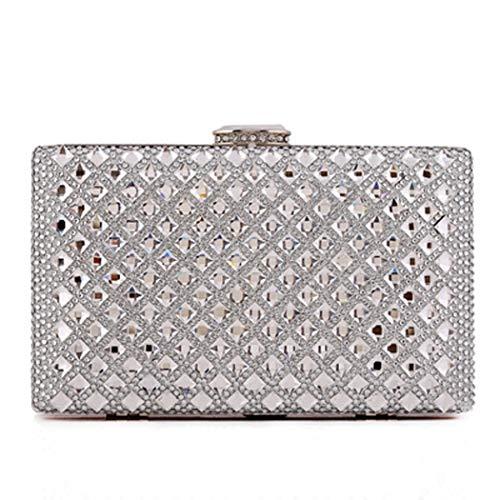 Party Daily Handbag Chic Clutch Clutch Bag Dazzling Bag Purse Fashion Bag Ladies Bag Clutch Silver Evening Sequins Envelope Glitter 1Bp4qFR