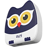 Power Bank ROSETTE Lithium-ion 2.0 USB Portable Charger with 2.4A Input, 2.1A Output External Battery Packs for Mi, iPhone, Honor, Oneplus, Samsung and More (Owl)