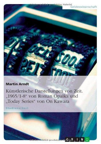 Künstlerische Darstellungen von Zeit. 1965/1-8
