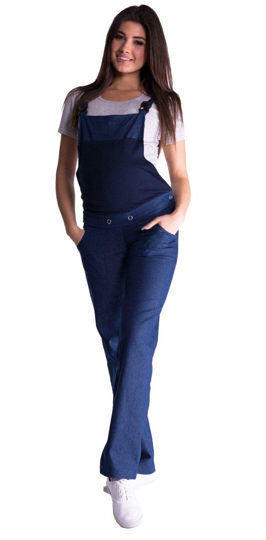 Mija – Denim Jeans Maternity dungarees overalls 3018