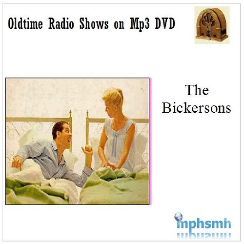 THE BICKERSONS Old Time Radio (OTR) series (1946-1951) Mp3 DVD 70 episodes