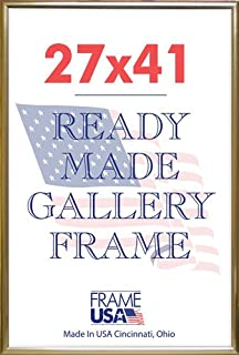 product image for Lot of 3,6,12 Or 24 27x41 Deluxe Poster Frames Options (Gold, Black & Silver) (3, Gold)