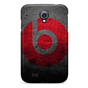 High-quality Durable Protection Case For Galaxy S4(red Wall Logos Letter Bee Monster Beat)