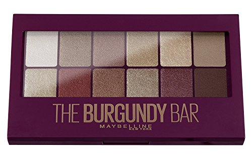 Maybelline New York Eyeshadow Palette Makeup, The Burgundy B