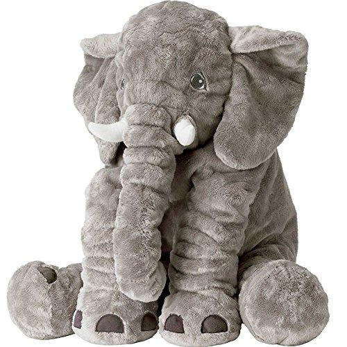 AmyHomie Plush Elephant Animals Cuddle Stuffed Toy for Kids, ()