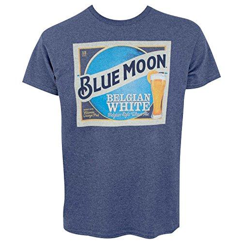 Blue Moon Belgian White Beer Label Men
